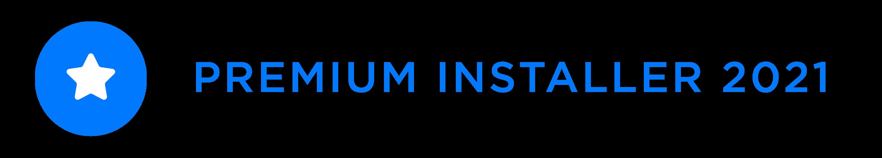 premium badge Tesla 2021